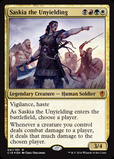 Saskia the Unyielding