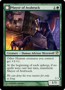 Mayor of Avabruck // Howlpack Alpha