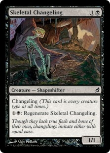 Skeletal Changeling