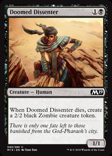 Doomed Dissenter
