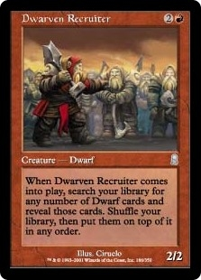 Dwarven Recruiter