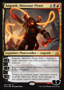 Angrath, Minotaur Pirate